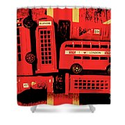 Best Of Britain Shower Curtain