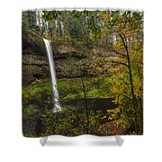 Best Of Silver Falls Shower Curtain