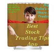 Best Stock Trading Tips App - Bigprofitapp Shower Curtain