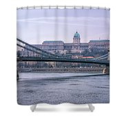 Best View Of Buda Castle Shower Curtain