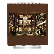 Best Western Plus Windsor Hotel Lobby - Christmas Shower Curtain