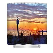 Sunrise In Paradise 2 Shower Curtain