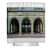 Bethesda Terrace Arcade 4 Shower Curtain