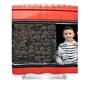 Bethlehem - A Child From Bethlehem Shower Curtain