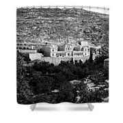 Bethlehem - Artas Convent Year 1900 To 1925 Shower Curtain
