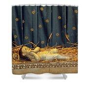 bethlehem - Baby Jesus  Shower Curtain