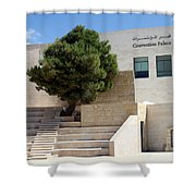Bethlehem - Convention Palace Shower Curtain