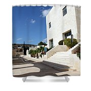 Bethlehem - Convention Palace South Entrance Shower Curtain