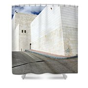 Bethlehem - Convention Palace Street Shower Curtain