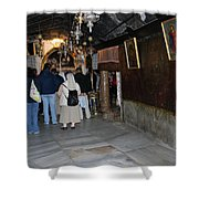 Bethlehem - Grotto Of Nativity 2009 Shower Curtain