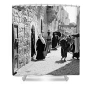 Bethlehem - Hard Working Woman Shower Curtain