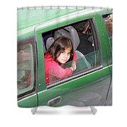 Bethlehem - Little Girl Of Bethlehem Shower Curtain