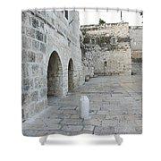 Bethlehem - Manger Square Shower Curtain