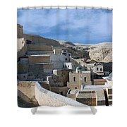 Bethlehem - Mar Saba Monstary 2010 Shower Curtain