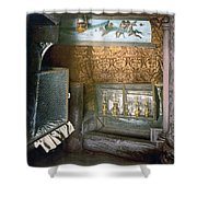 Bethlehem - Nativity Church 1890 Shower Curtain