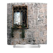 Bethlehem - Nativity Church Window Shower Curtain