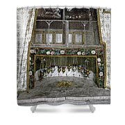 Bethlehem - Nativity Star 1890 Shower Curtain