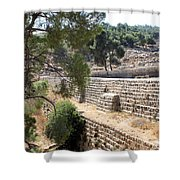 Bethlehem - Solomon's Pools Shower Curtain
