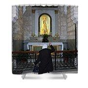 Bethlehem - The Rosary Shower Curtain