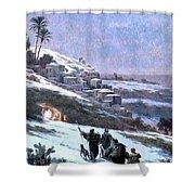 Bethlehem 1893 Shower Curtain