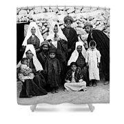 Bethlehem Family In 1900s Shower Curtain