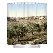 Bethlehem Field 1890 Shower Curtain