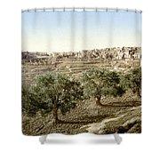 Bethlehem Field 1890 Shower Curtain