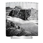 Bethlehem In 1875 Shower Curtain