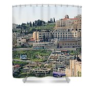 Bethlehem In Spring Shower Curtain
