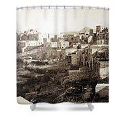 Bethlehem Old Main Street Shower Curtain