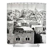 Bethlehem Old Town Shower Curtain by Munir Alawi