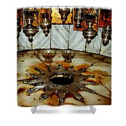 Bethlehem Star Shower Curtain