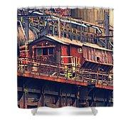 Bethlehem Steel #10 Shower Curtain