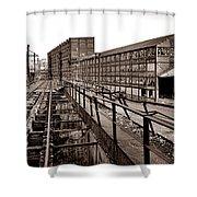 Bethlehem Steel Number Two Machine Shop Shower Curtain