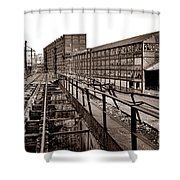 Bethlehem Steel Number Two Machine Shop Shower Curtain