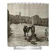 Bethlehem: Street, C1911 Shower Curtain