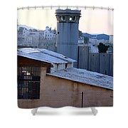 Bethlehem Watchtower Shower Curtain