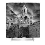 Bethlehem With Cloudy Sky Shower Curtain