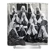 Bethlehem Women School 1900s Shower Curtain