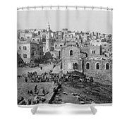 Bethlehem Year 1890 Shower Curtain