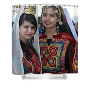 Bethlehem Young Girls Shower Curtain