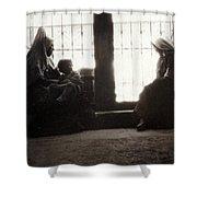 Bethlehemites At Home Shower Curtain