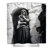 Bethlehemites Women 1900s Shower Curtain