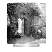 Bethlehemites Women Working Year 1925 Shower Curtain