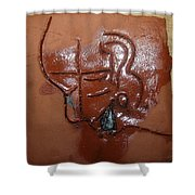 Betrayal - Tile Shower Curtain