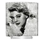 Betsy Palmer Vintage Hollywood Actress Shower Curtain