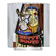 Betty Boots - Nashville Tn Shower Curtain
