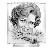 Betty White Shower Curtain