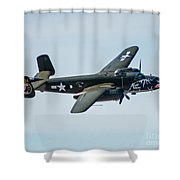 Betty's Dream Banking Shower Curtain