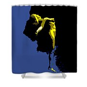Between Heaven And Earth Shower Curtain